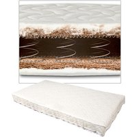 Samuel Johnston Coconut and Wool Sprung Cot/Cotbed Mattress - 140 x 70 cm
