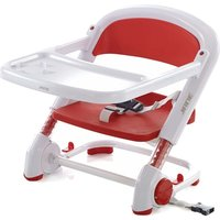 Jane Booster Seat, foldable with Travel Bag - Red
