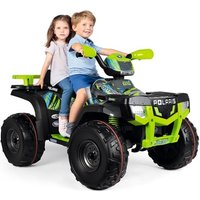 Peg Perego Polaris Sportsman 850 24Volt Kids Quad - Lime