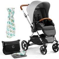 Jane Minnum Pushchair, Special Edition Cactus - with Sport Wheels