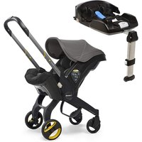 Doona Doona+ Infant Car Seat with ISO-fix Base - Greyhound
