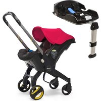 Doona Doona+ Infant Car Seat with ISO-fix Base - Flame Red