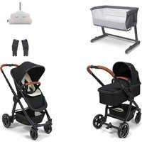BabyLo Cloud XT Premium Nursery Bundle - Black
