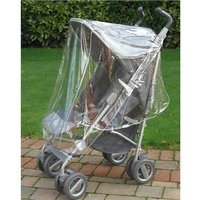 Clippasafe Universal Buggy Rain Cover - Transparent