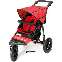 Out 'n' About Nipper Single V4 Pushchair - Carnival Red