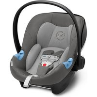 Cybex Aton M i-SIZE Car Seat including Sensorsafe - Manhattan Grey