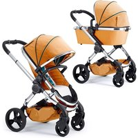 iCandy Peach Travel System and Premium Nursery Bundle 3 - Chrome/Damson