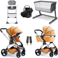 iCandy Peach Travel System and Essential Nursery Bundle 2 - Satin/Indigo