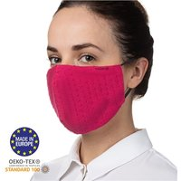 Noordi Adult Antimicrobial Face Mask - Raspberry - Adult