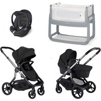 iCandy Orange Travel System and Bedside Crib - Oynx - With Snuzpod3