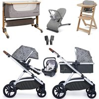 Cosatto Wow XL Premium Travel System and Nursery Bundle - Hedgerow
