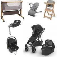 Uppababy Vista 2018 Travel System and Premium Nursery Bundle - Gregory + Isofix Base