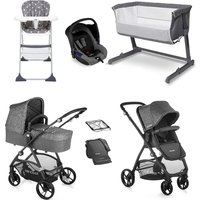 Be Cool Slide-3 Essential Travel System and Nursery Bundle - Be Melange
