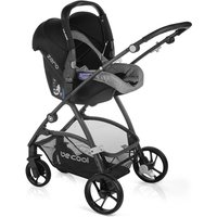 Be Cool Slide-3 Travel System and Essential Nursery Bundle - Be Melange
