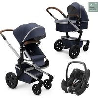 Joolz Day3 Travel System - Classic Blue - + Pebble Pro i-size