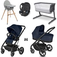 Cybex Balios S Travel System and Premium Nursery Bundle - Denim Blue