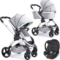 iCandy Peach Travel System - Dove Grey - Aton
