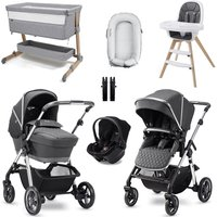 Silver Cross Pioneer 2020 Premium Travel and Nursery Bundle - Pepper