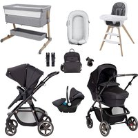 Silver Cross Pioneer Eclipse Special Edition Travel System and Premium Bundle - Black