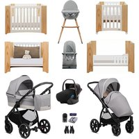 Noordi Sole Go Luxury Travel and Nursery Bundle - Beige