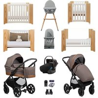 Noordi Sole Go Luxury Travel and Nursery Bundle - Blue Jeans