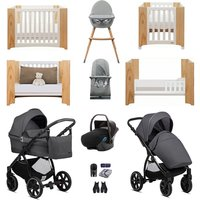 Noordi Sole Go Luxury Travel and Nursery Bundle - Black
