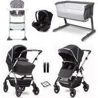 Silver Cross Wayfarer 2020 Essential Travel and Nursery Bundle - Pepper