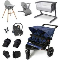 Out n About Nipper Double Essential Travel and Nursery Bundle - Royal Navy