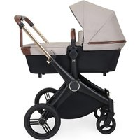 Ickle Bubba Aston Rose i-size Travel System with Isofix Base - Stone