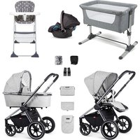 Venicci Tinum Essential Travel System and Nursery Bundle - Camo Black