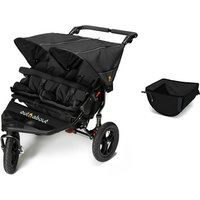 Out n About Nipper Double V4 Raven Black + Accessories - Basket