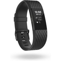 Fitbit Charge 2 Fitness Smartband Activity Tracker Large Black
