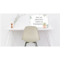 "Dekoschild aus Aluminiumverbund ""green frame"" A3 extra large"