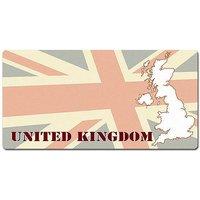 Länder - Nummernschild im Format 30x15 cm - Großbritannien