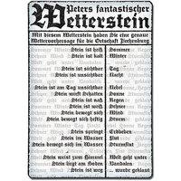 Wetterstein - Schild im Vintage Style mit Wunschtext