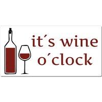 Maritimes Türschild mit Wunschtext und Symbol in vielen Farben 200 x 100 mm