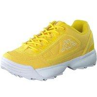 Kappa Rave Sun Sneaker Damen gelb