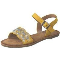 Rieker Sandale Damen gelb