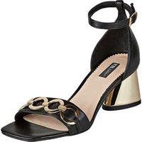 Tosca Blu Sandale Damen schwarz