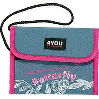 4YOU Brustbeutel - Money Bag Denim-Look 568