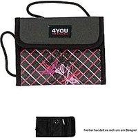 4YOU Brustbeutel Money Bag Retro Style