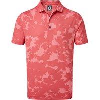 FootJoy Camo Floral Print Polo Shirt