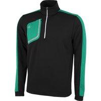 Galvin Green Dwight Insula Half Zip Sweater