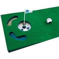 PGA Tour Golf Practice Putting Mat and Guideball