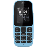 Nokia 105 v4 Blue