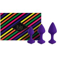 Bibi Butt Plug Set Purple