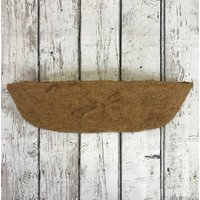 Extra Deep Coco Wall Trough Planter Liner (60cm)