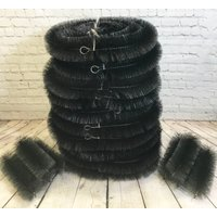 Set of 10 Black Gutter Brush Leaf Guard (4m) with Set of 8 Drain Guard Plugs