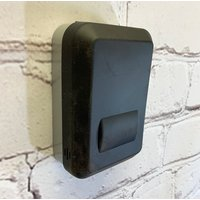 Wall Mounted Key Storage Safe with Rubber Cover - 4 Digit Roller Lock