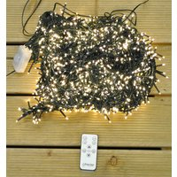 2000 LED Warm White Cluster Supabright String Lights (Mains) by Premier